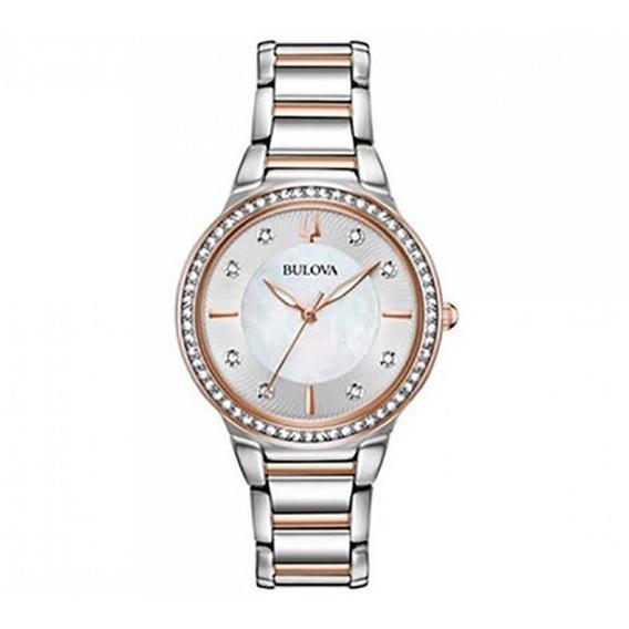 Reloj Bulova Crystal 98l258 Original Nuevo E-watch