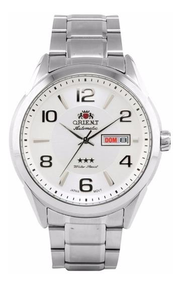 Relógio Orient Masculino Automático 469ss052 S2sx Aço Oferta