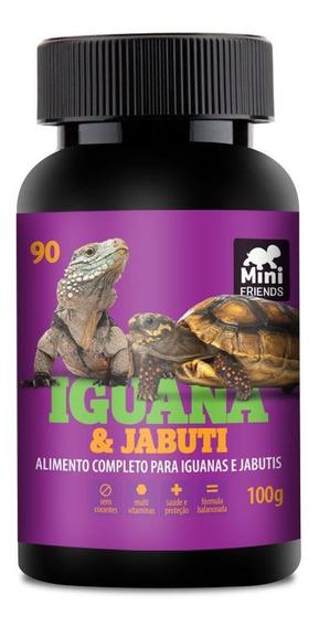 Mini Friends - Alimento Premium Para Iguana E Jabuti - 100 G