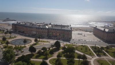 Depto Vista Al Mar Y Barrio Los Troncos Piso 19