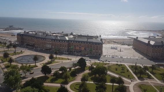 Depto Vista Al Mar Y Los Troncos Piso 18 Mar Del Plata