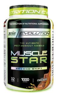 Musclestar 1 Kg Star Nutrition Post Pre Work Creatina Whey