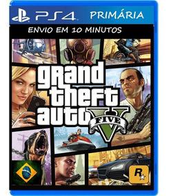 Gta V Ps4 Original Jogo Primario Envio Digital Vitalicio
