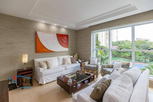 Apartamento Com 3 Dormitórios À Venda, 130 M² Por R$ 750.000,00 - Panamby - São Paulo/sp - Ap16045