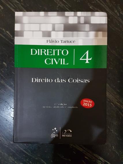 Livro: Direito Civil Direito- Das Coisas - Flávio Tartuce