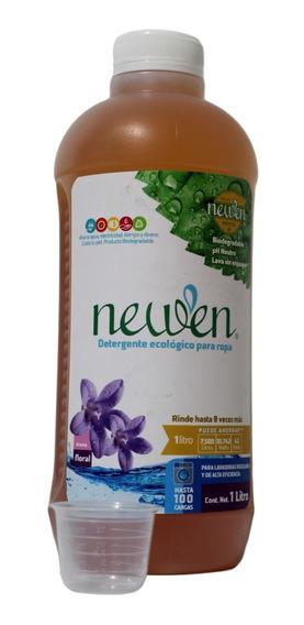 Detergente Biodegradable Sin Enjuague Ropa Newen 1l +medidor