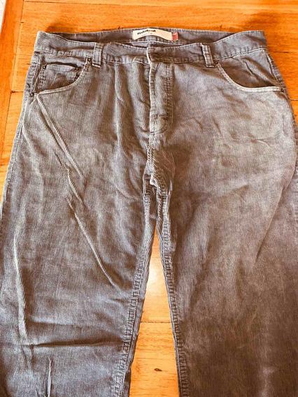 Pantalón De Corderoy Talle 42 Mistral Hombre Usado