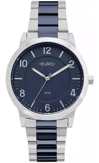 Relógio Feminino Euro Casual Bicolor -eu2036ylx/5k