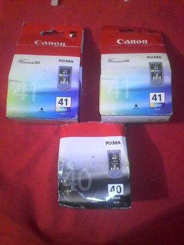 Cartuchos  Originales Canon Color Y Negro