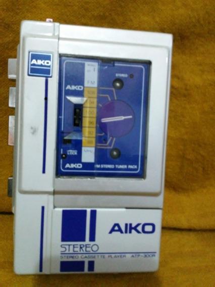 Antigo Walkman Aiko Steteo Cassete Player Atp 300r