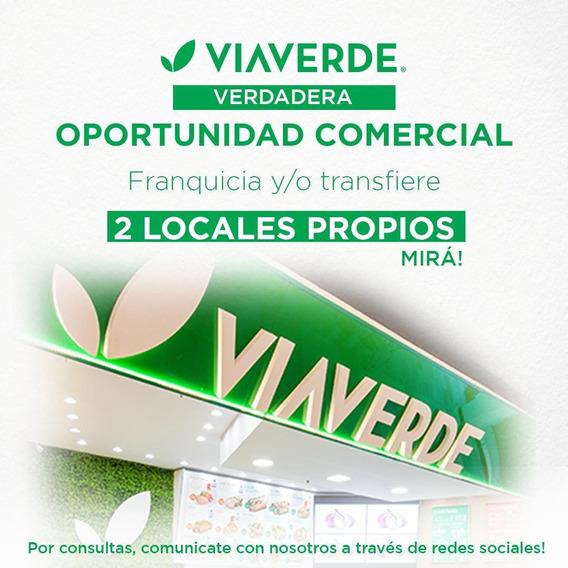 Franquicia/transfiere Fondo De Comercio Locales Patio Olmos