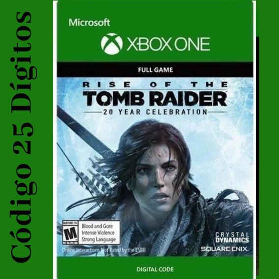 Tomb Raider Aniversário 20 Anos Código 25 Dígitos
