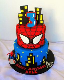 Tortas Decoradas Fondant Crema Para Cumpleaños