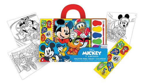 Imagen 1 de 8 de Libro De Coloreo Dibujo Creativo Coloreo Disney Stickers