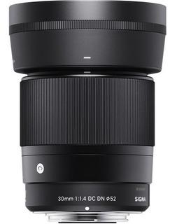 Lente Sigma 30mm F/1.4 Dc Dn Contemporary P/sony Montura E A