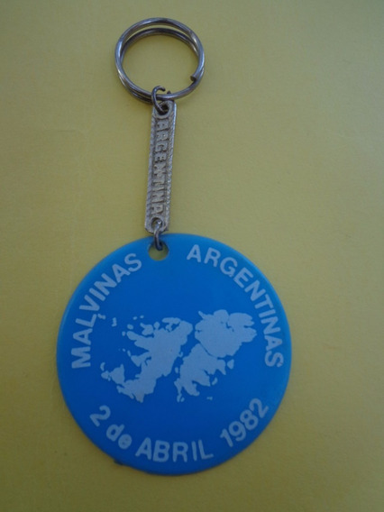Llavero De Las Islas Malvinas Conmemorativo 2 De Abril