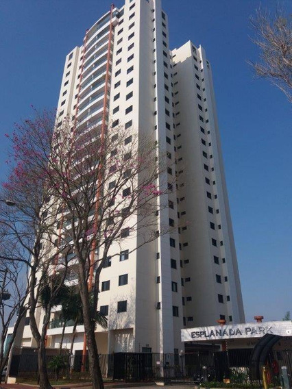 Cobertura Mobiliada Com 250m², São 3 Dormitórios (1 Suíte) Por R$ 3.900/mês - Jardim Esplanada - São José Dos Campos/sp - Co0041