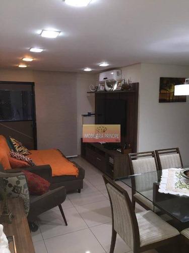 Apartamento Com 3 Dormitórios À Venda, 78 M² Por R$ 640.000 - Vila Firmiano Pinto - São Paulo/sp - Ap0960