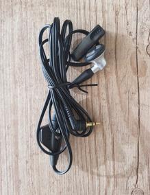 Fone De Ouvido / Microfone Para Celular - Preto