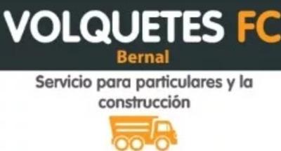 Alquiler De Volquetes.. Bernal Don Bosco Wilde Quilmes