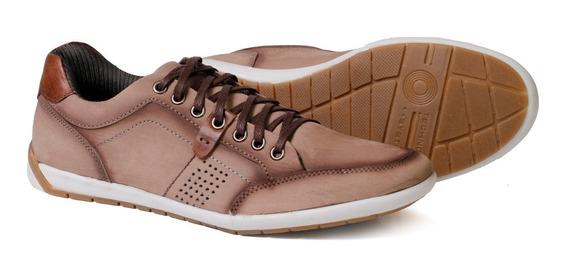 Sapatênis Masculino Em Couro Lançamento Tchwm Shoes