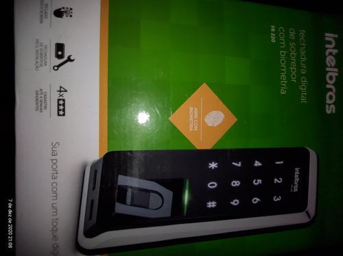 Fechadura Digital Intelbras Com Biometria Fr 220