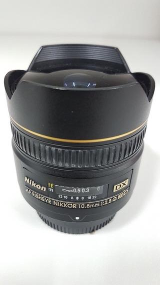 Lente Nikon Grande Angular Fish 10.5mm Impecável
