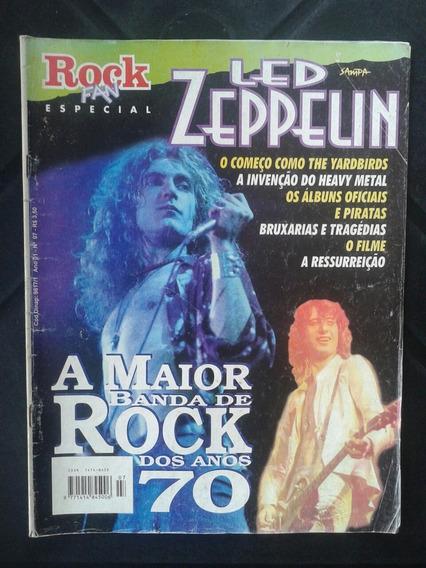 Revista Led Zeppelin Rock Fan Especial Ano 1 N ° 7 Junho 98