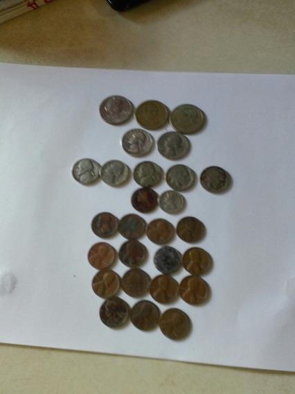 Monedas Antiguas De Panama U.s.a.