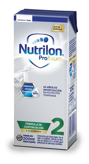 Leche de fórmula líquida Nutricia Bagó Nutrilon Profutura 2 por 30 unidades de 200mL