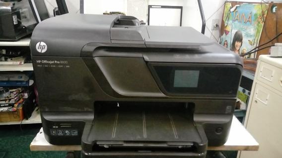 Impresso Hp 8600 Pro Com Kit Bulk + 02 Cabeças Para Reparo