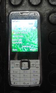 Celular E-71tv Dual Sim Com Radio Fm E Tv. Raridade