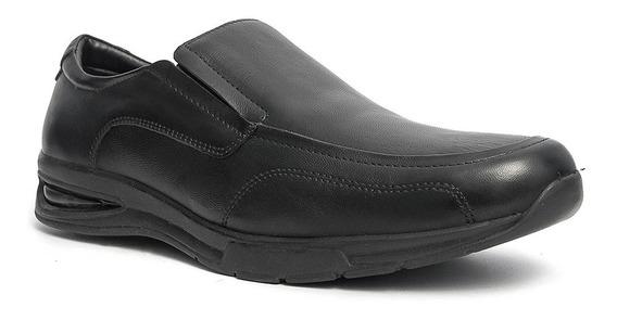 Sapato Social Solado Conforto Pé De Ferro Couro Legítimo 830