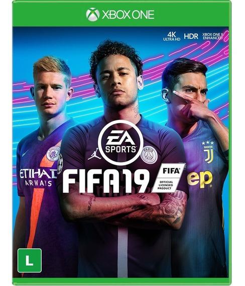 Jogo Xbox One Fifa 19 - Novo - Lacrado