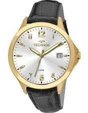 Relógio Technos Masculino Com Pulseira De Couro 1s13ck/2k