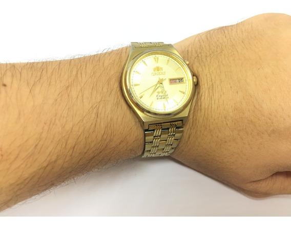 Relógio Orient Em5m-a0 3 Estrelas 21 Jewels Original