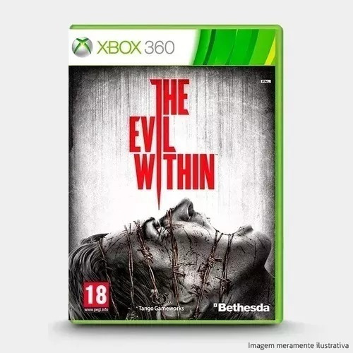 Jogo The Evil Within Xbox 360 Midia Fisica Original Lacrado