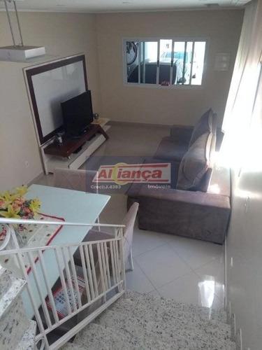 Sobrado Residencial À Venda Todo Mobiliado, Jardim Guanca, São Paulo. So0463 - Ai2155