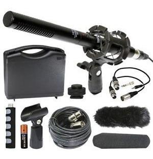Xm-55 Kit Micrófono Transmisión Video Sony A5000 A6000 A7000