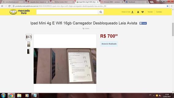 iPad Mini 2 *cuidado Vendedor Golpista.