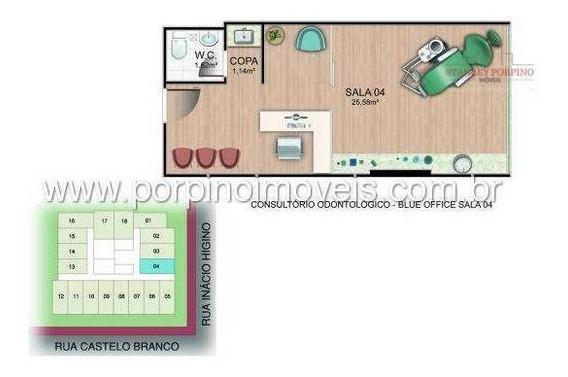 Sala Para Vender Ou Alugar Na Praia Da Costa - Sa0002