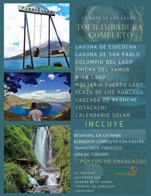Tour Imbabura Otavalo Completo