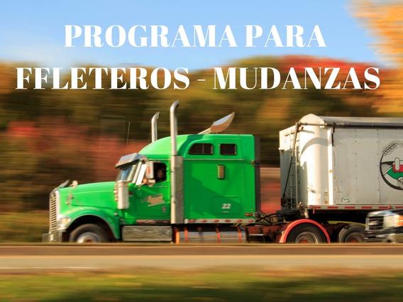 Programa (software) Para Fleteros Mudanzas - Español