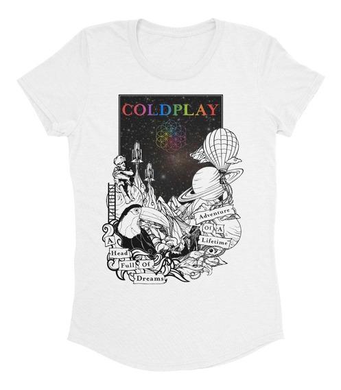 Playera Coldplay A Head Full Of Dreams