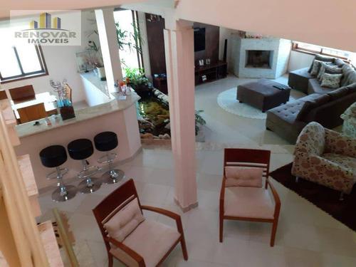 Imagem 1 de 17 de Sobrado Com 4 Dormitórios À Venda, 329 M² Por R$ 1.300.000,00 - Parque Residencial Itapeti - Mogi Das Cruzes/sp - So0431