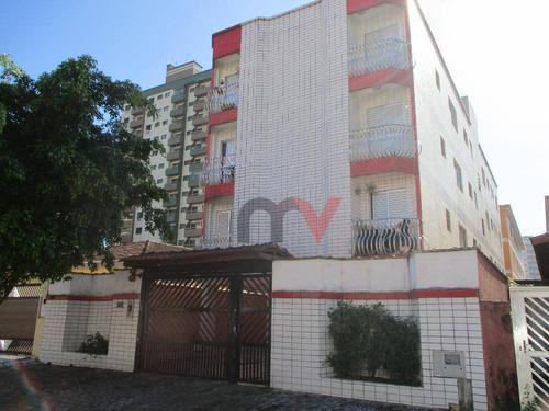 Apartamento À Venda, 59 M² Por R$ 150.000,00 - Tupi - Praia Grande/sp - Ap0975