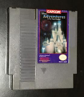 Juego Disney Adventures In The Magic Kingdom Nes Original