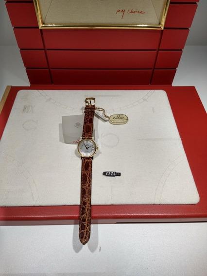 Relógio Omega De Ville Ouro Modelo 73803412