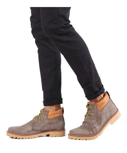 Imagen 1 de 3 de Zapatillas Botitas Casual Hombre Urbana - Quality Import Usa