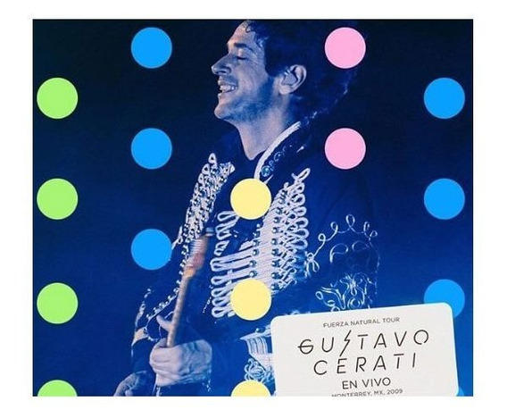 Cerati Gustavo Fuerza Natural Tour (mx 2009) Cd X 2 + Dvd